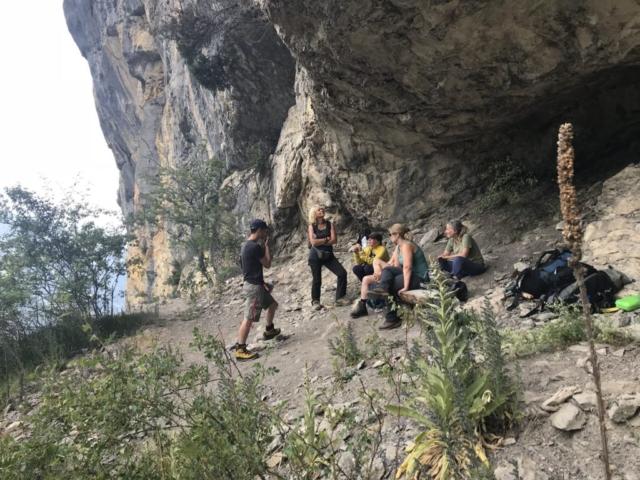 Bödmeren: Karsthhöhlen