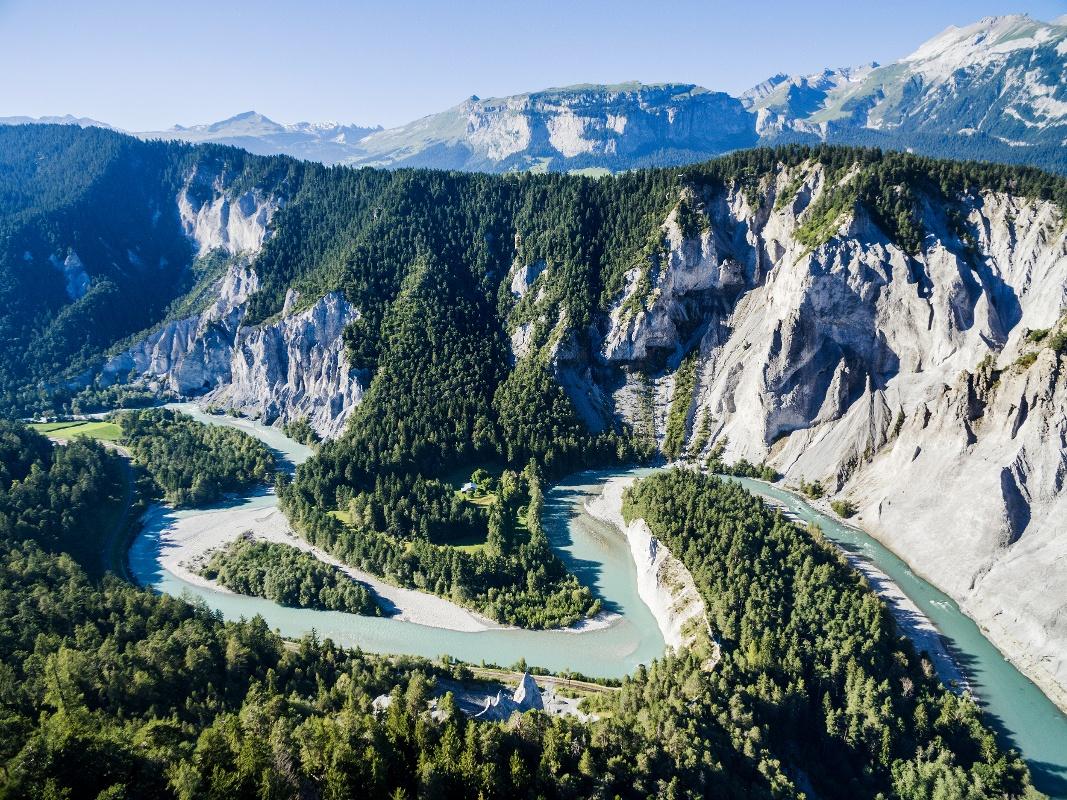 Ruinaulta, Grand Canyon Graubündens